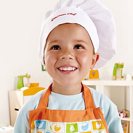 Hape Kid's Chef Apron Set Pretend Play - E3119 - image 2 of 4