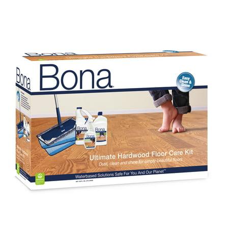 Bona® Ultimate Hardwood Floor Care Kit (Flora Kits)