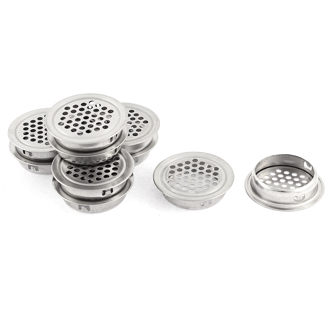 Kitchen Bathtub Waste Sink Strainer Filter Drainer Stopper 42mm Head Dia 10 Pcs - image 1 de 1