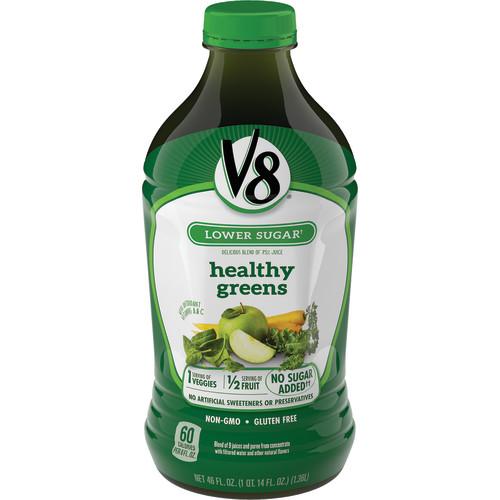 V8 Vegetable & Fruit Juice, Healthy Greens, 46 Fl Oz, 1 Count