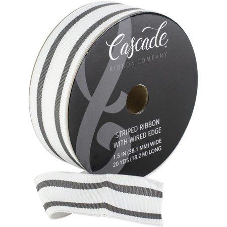 Cascade Grosgrain Ribbon W/Wired Edge 1.5