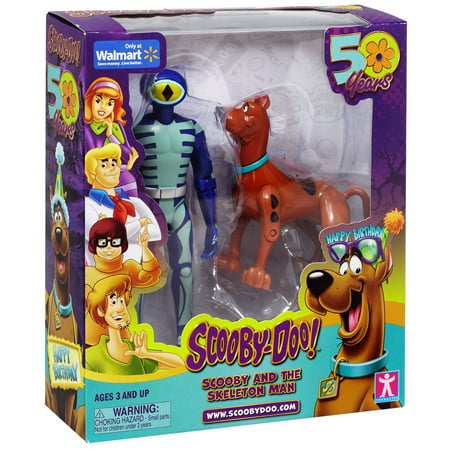 Scooby Doo Scooby & The Skeleton Man Action Figure 2-Pack