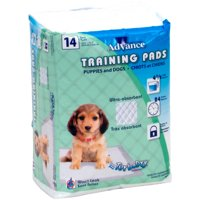 Advance Dog Training Pads With Turbo Dry Technology 14/Pkg