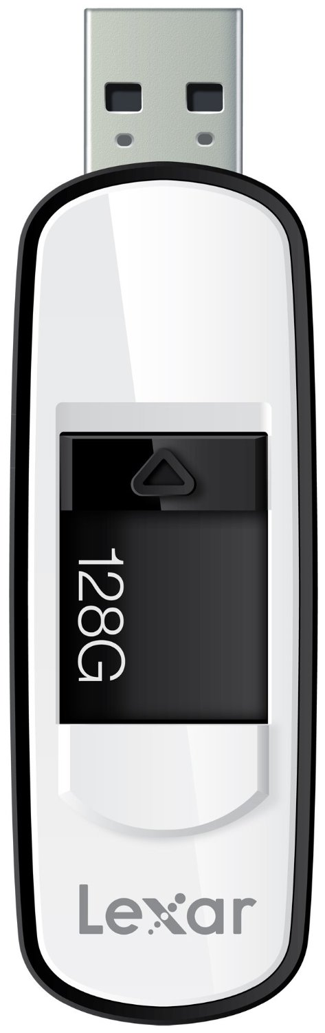 JumpDrive S75 128GB USB 3.0 Flash Drive LJDS75-128ABNL (Black), Stores and transfers content faster with SuperSpeed USB... by Lexar