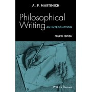 Philosophical Writing: An Introduction (Paperback)