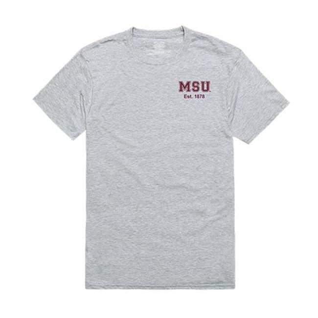 W Republic Apparel 528-133-HGY-04 Mississippi State University Practice Tee for Men, Heather Grey - Extra Large - image 1 of 1