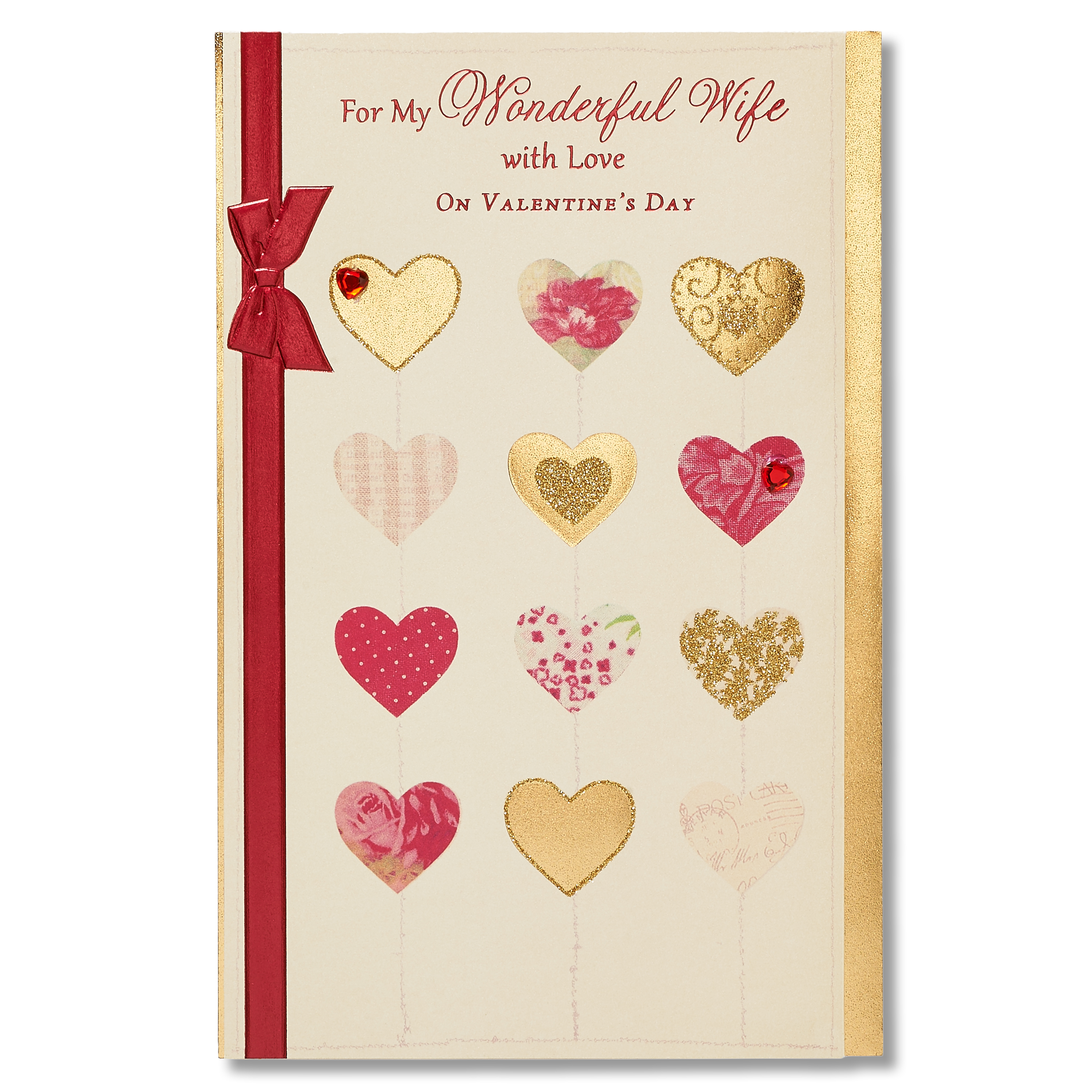 American Greetings Wonderful Valentines Day Card For Wife With