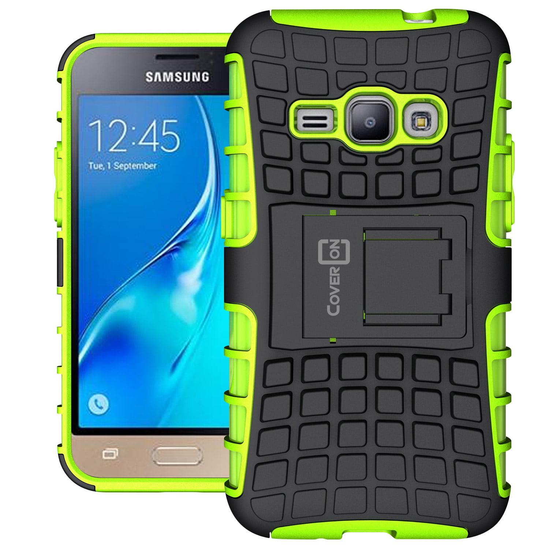 the best attitude aaf6f 69f48 CoverON Samsung Galaxy Express 3 / Luna / J1 Luna Case, Atomic Series Slim  Protective Kickstand Phone Cover