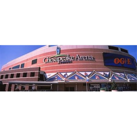 Panoramic Images Ppi143152l Low Angle View Of A Stadium  Chesapeake Energy Arena  Oklahoma City  Oklahoma  Usa Poster Print By Panoramic Images   36 X 12