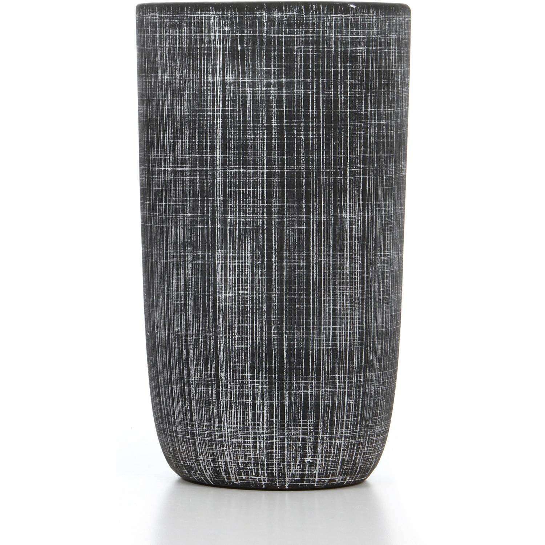 Hosley Elegant Expressions Grey Terracotta Vase by Generic