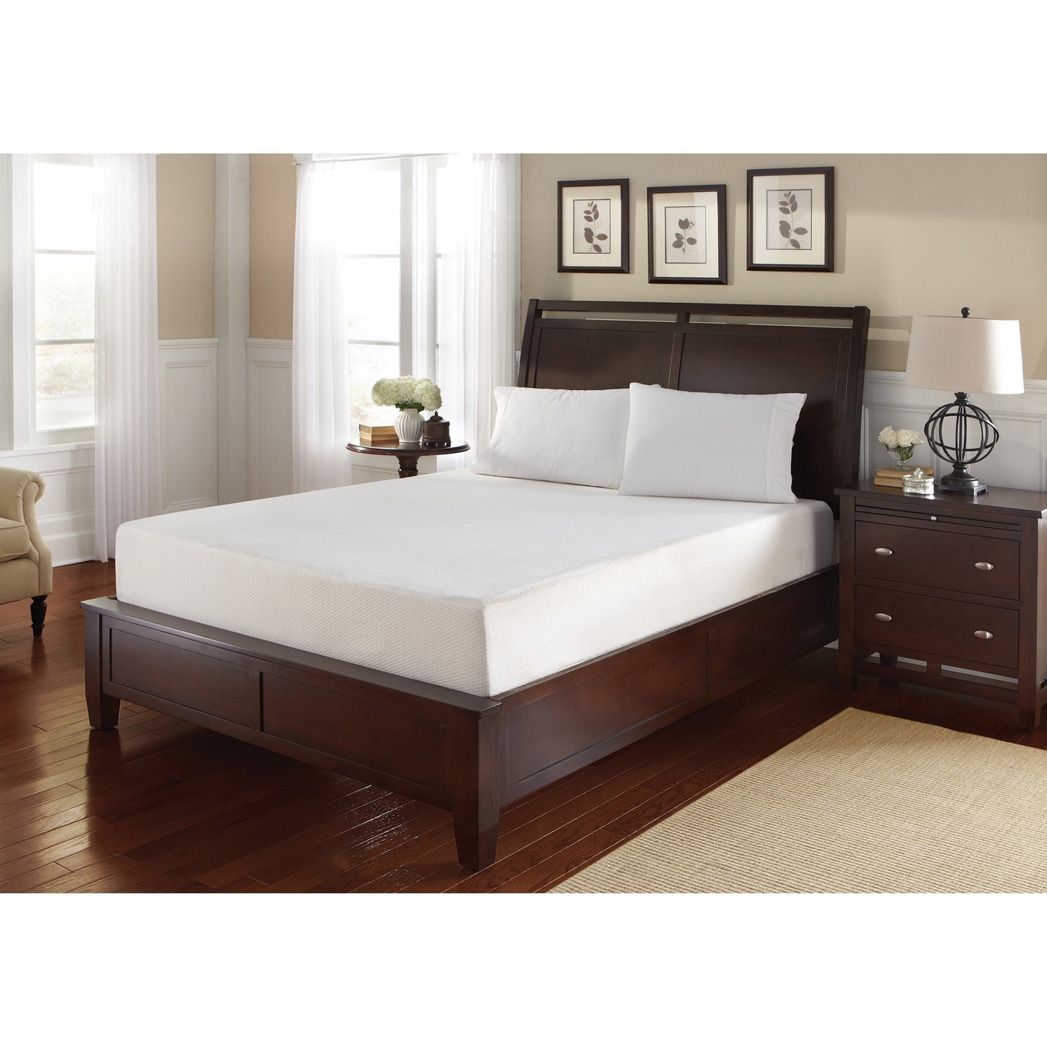 WHITE by Sarah Peyton Home Collection WHITE by Sarah Peyton 12-inch King-size Gel Convection Cooled Memory Foam Mattress