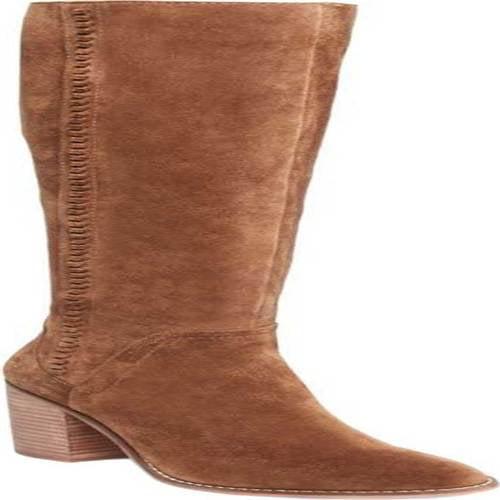 04457efa519 Steve Madden - Steve Madden Roxana Women s Whipstitch Block Heel Knee High  Boots - Walmart.com