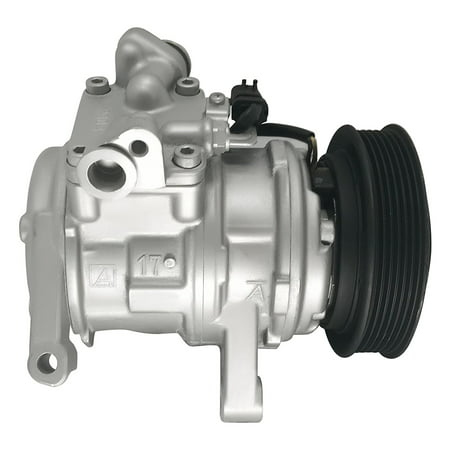 RYC Remanufactured AC Compressor and A/C Clutch GG380 Fits Jeep Grand Cherokee 1999, 2000, 2001, 2002, 2003, 2004 V8 4.7L