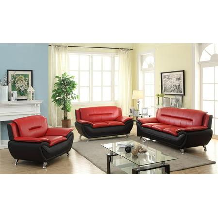 Zebra 3pc Living room set