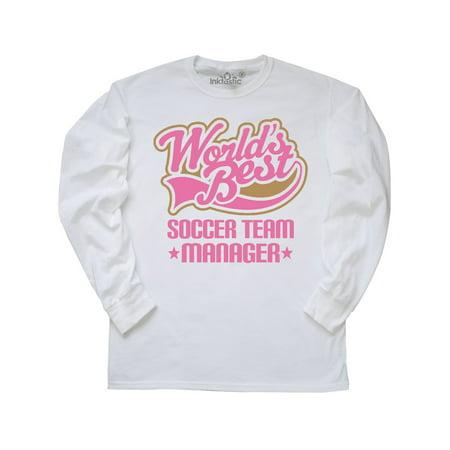 Cute Soccer Team Manager Gift Long Sleeve T-Shirt