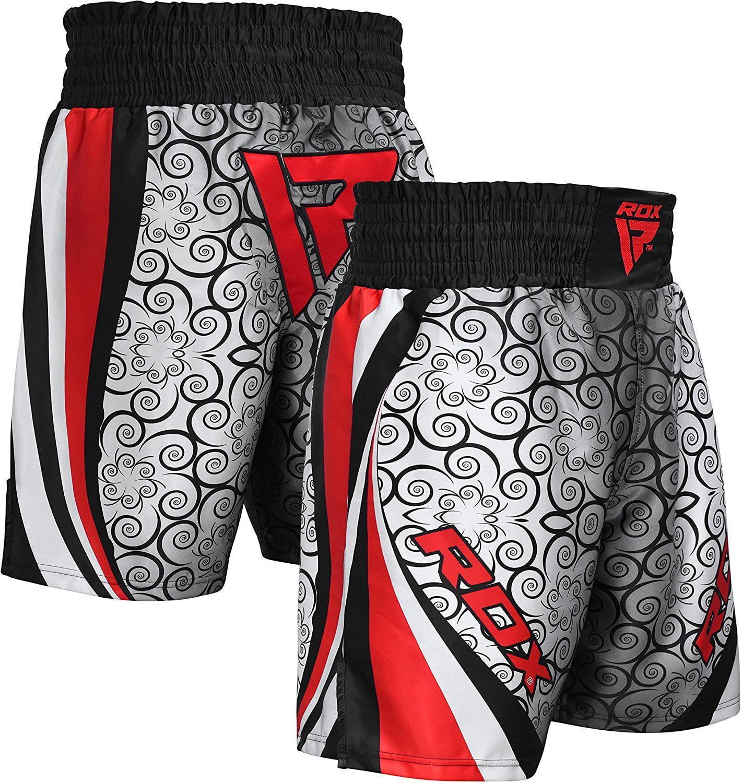 RDX MMA Boxing Shorts Training Fightwear Gym Red Blue