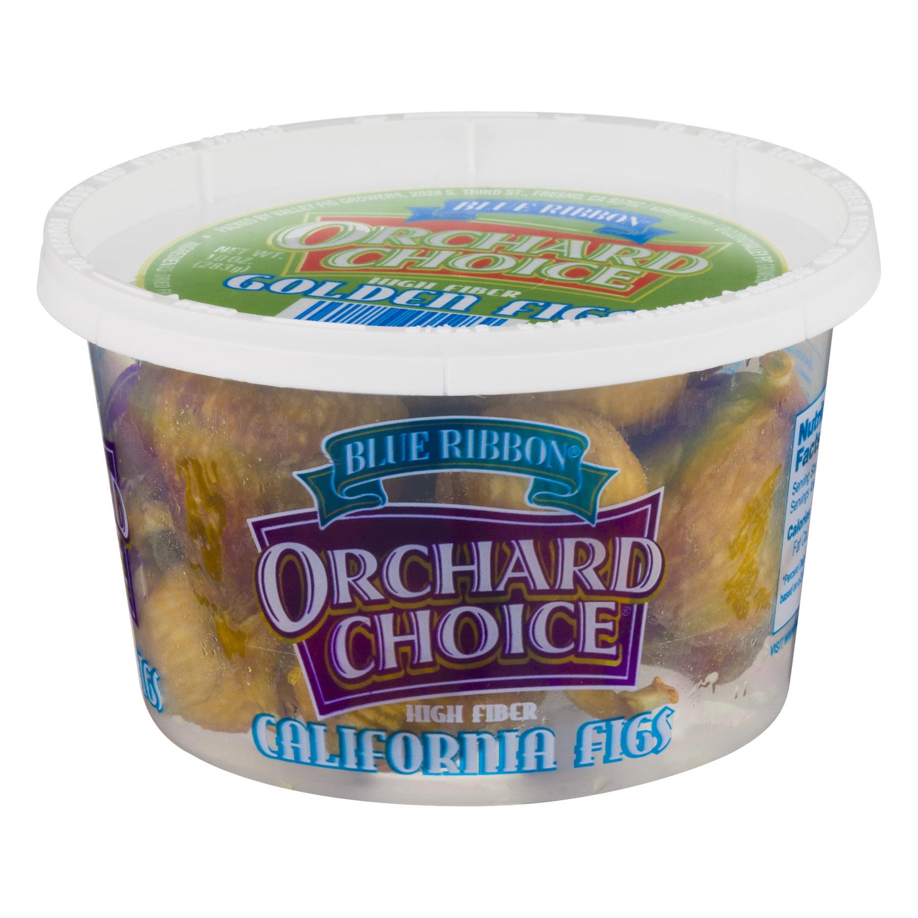 Blue Ribbon Orchard Choice  Golden Figs 10 Oz Plastic Tub