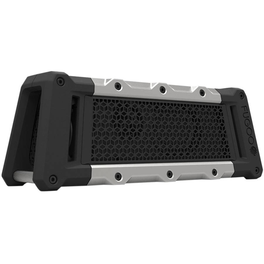 FUGOO VV2477 Tough Rugged Rechargeable Portable Dust/Snow/Shock/Waterproof Bluetooth Speaker with Built-In Microphone