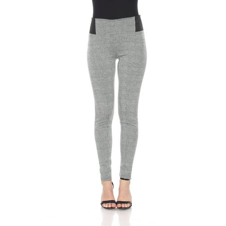 Jacquard Leggings - Women's High Waist Jacquard Leggings