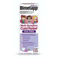 Dimetapp Children's Dye Free Multi Sympton