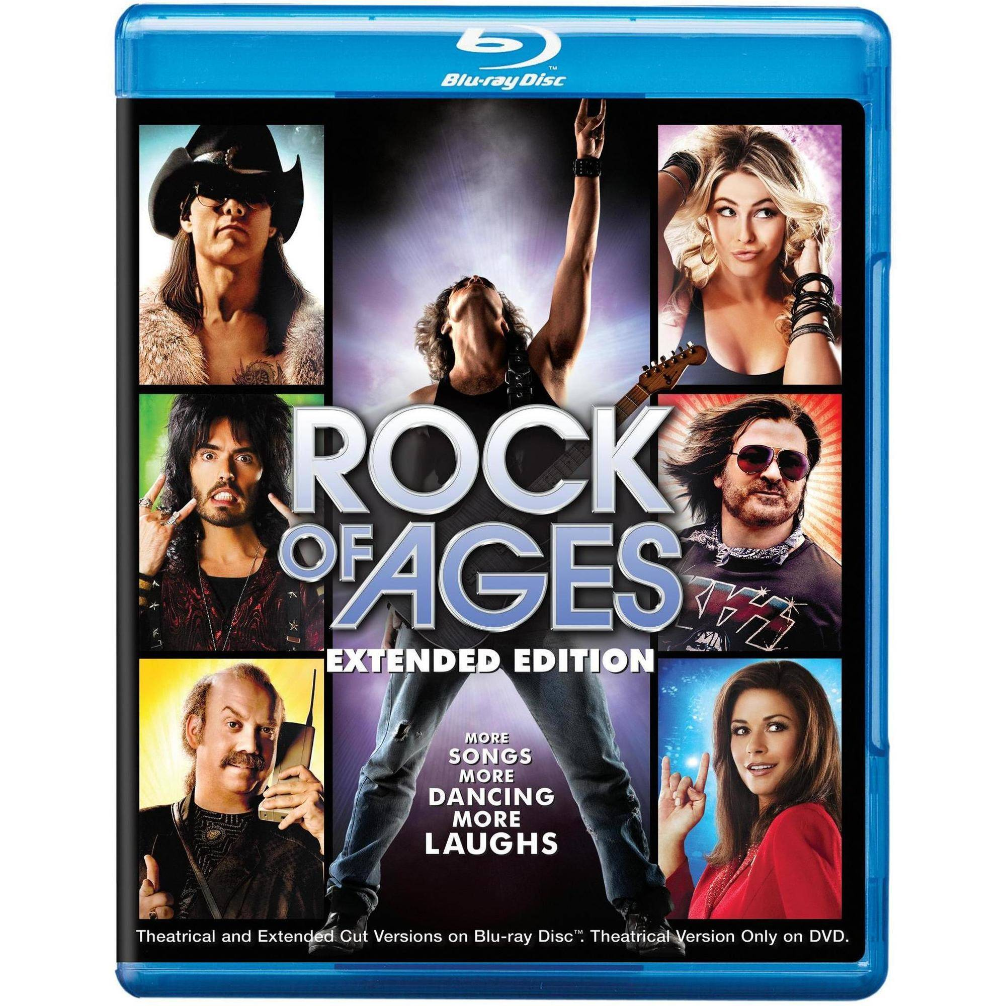 ROCK OF AGES (BLU-RAY/DVD/UVBR/2 DISC/EXTENDED CUT/WS-16X9)