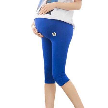 aeb649ebc9e943 Babula Women Modal Soft Stretch Pregnancy Maternity 3/4 Leggings Pants