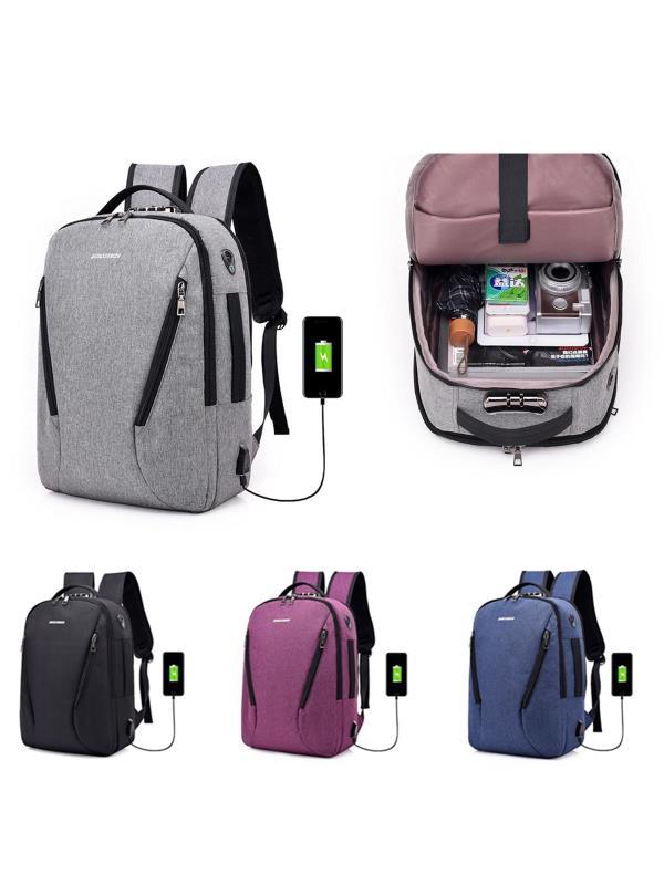 Meigar Boys Laptop Backpack School, Mens Canvas Shoulder Travel Bags Rucksack