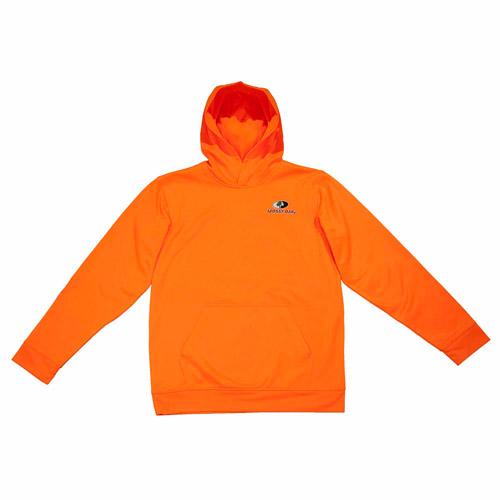 Mossy Oak Youth Hoodie, Blaze Orange thumbnail
