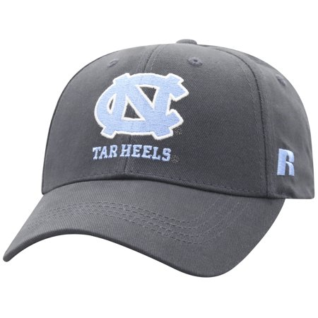 Men's Russell Charcoal North Carolina Tar Heels Endless Adjustable Hat - (North Carolina Tar Heels String)