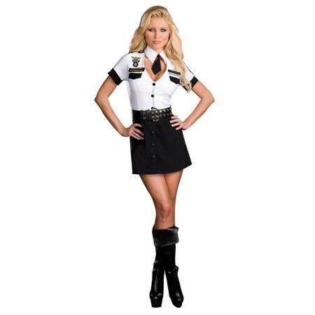 Halloween Costumes Fast Shipping (Strip Search Officer Tara U. Clothesoff Dreamgirl)