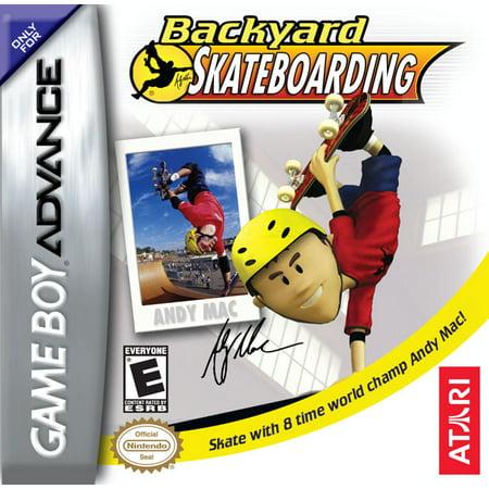 Backyard Skateboarding GBA