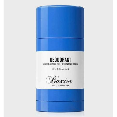 Baxter of California Deodorant for Sensitive Skin, 1.2 (Baxter Of California Citrus And Herbal Musk Deodorant)