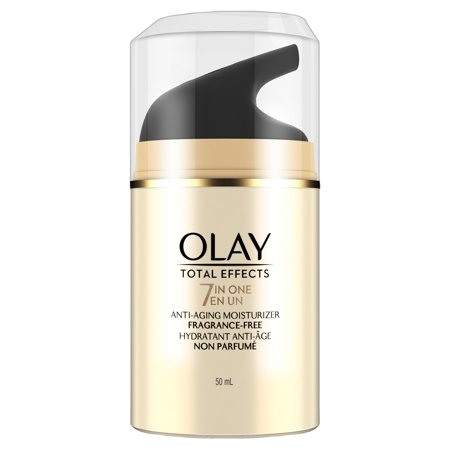 Olay Total Effects 7-in-1 Anti-Aging Fragrance-Free Face Moisturizer, 1.7fl oz