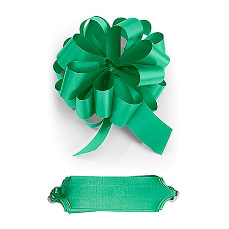 """Texture Bow - Double Sided Satin Pull Bows  - Pack of 50 - 5½"""" W x 20 Loops -Textured Double Sided Satin"""