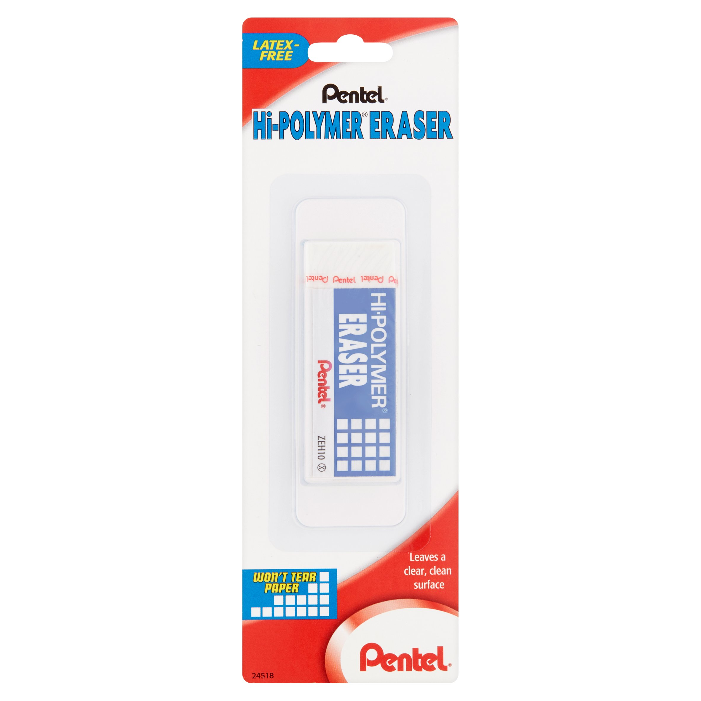 Pentel Hi-Polymer High Quality Plastic Eraser
