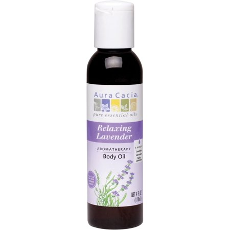 Frontier Natural Products Aura Cacia  Body Oil, 4 -