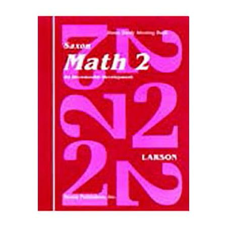 Saxon Math 2 Home Study Kit First (Math Literature Kit)
