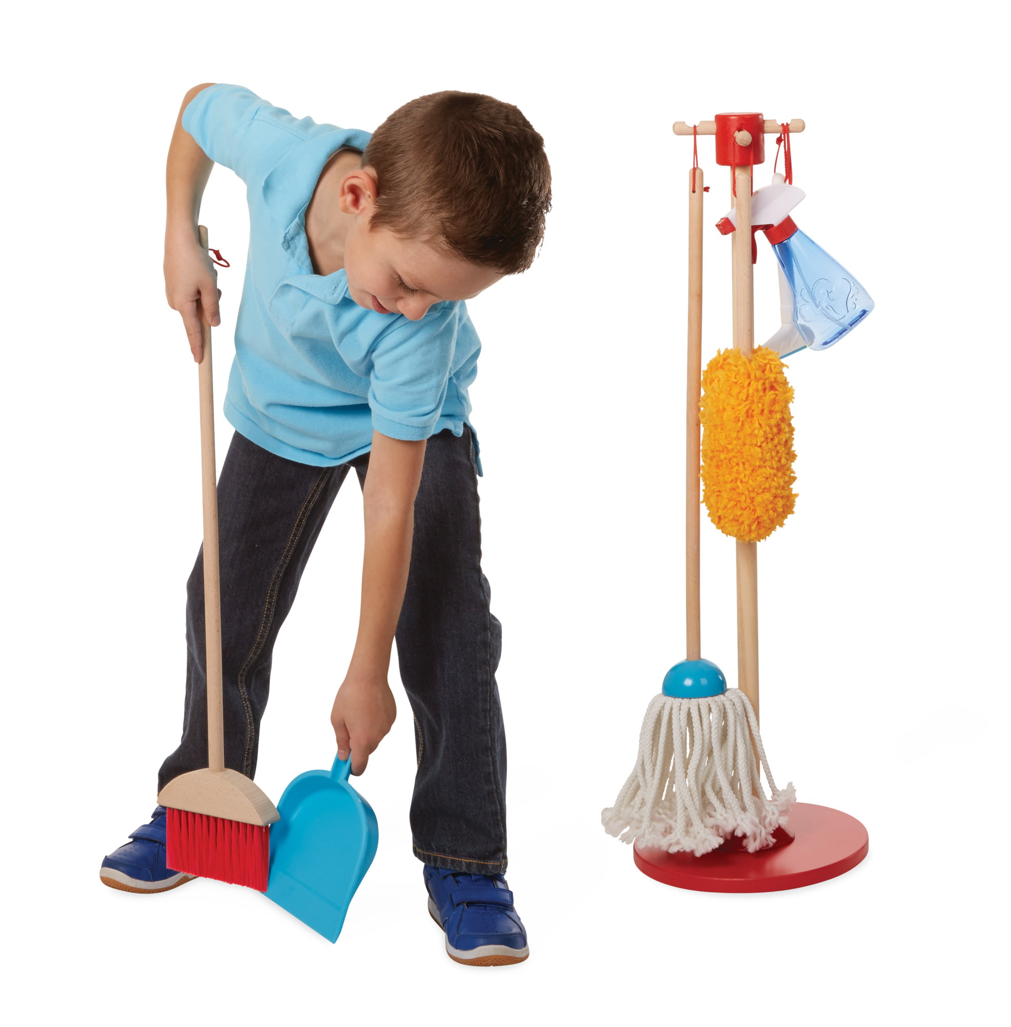 Melissa and Doug Cleaning 6 Piece Kids Children/'s Play Set