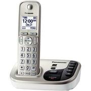 Panasonic Kx-tgd220n Dect 6.0 Plus Expandable Digital Cordless Answering System (1-handset System)