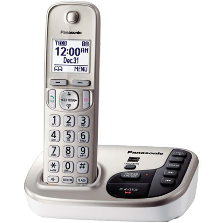 Panasonic Kx Tgd220n Dect 6 0 Plus Expandable Digital Cordless Answering System  1 Handset System