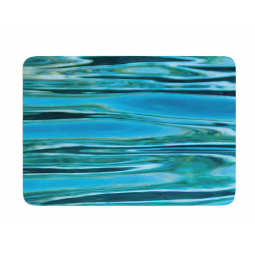 East Urban Home Water by Susan Sanders Memory Foam Bath Mat