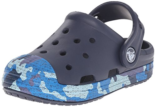 Crocs 203139-410 : Bump It Camo K Clog (Toddler Little Kid) by crocs