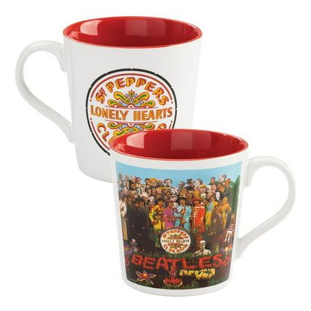 Vandor The Beatles Sgt. Pepper's 12 oz. Ceramic Mug Beatles Fan Mug