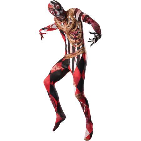 Adult Mens 2nd Skin Acrosplat Deadly Circus Acrobat Costume - Seven Deadly Sins Halloween Party