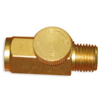 Brass Air Regulator For Tornador Cleaning Tool
