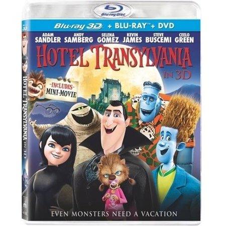 Hotel Transylvania  3D Blu Ray   Dvd   Digital Copy   With Instawatch   Widescreen