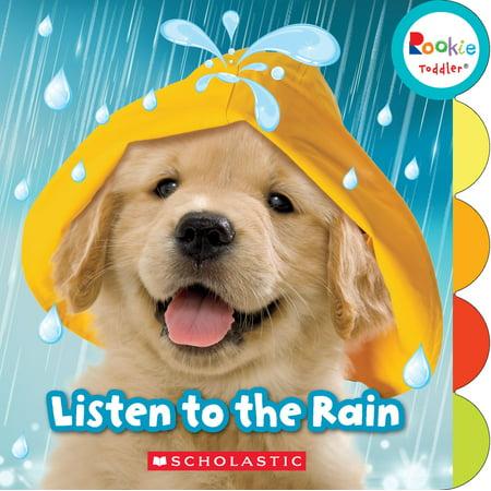 Listen to the Rain (Board Book)