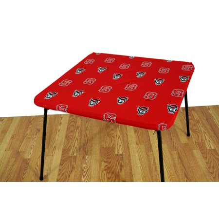 College Covers Fan Shop North Carolina State Wolf pack Fitted Card Table Cover - 33 x 33 in