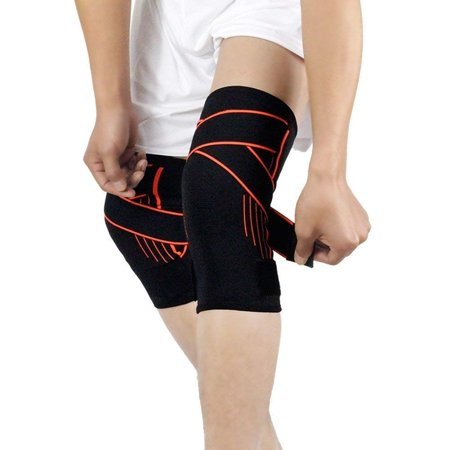 Max Support Knee Brace Support for Arthritis Tendonitis, ACL, MCL, Meniscus  Tear, Post Surgery, Best Sleeve Side Stabilizers & Padding Protector,