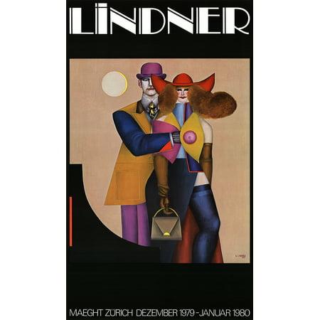 Richard Lindner Maeght Zurich 1980 Poster